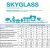 Сотовый поликарбонат для теплиц SKYGLASS прозрачный 4мм